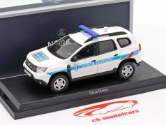 Dacia Duster Police Municipale 2018 白色 / 蓝色 1:43 Norev