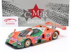 Mazda 787B #55 победитель 24h LeMans 1991 Weidler, Herbert, Gachot 1:18 CMR