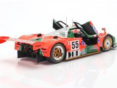 Mazda 787B #55 勝者 24h LeMans 1991 Weidler, Herbert, Gachot 1:18 CMR