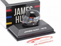 James Hunt McLaren M23 #11 formule 1 Champion du monde 1976 casque 1:8 MBA