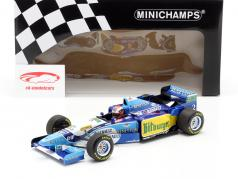 Johnny Herbert Benetton B195 #2 Winnaar Brits GP formule 1 1995 1:18 Minichamps