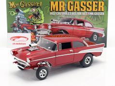 Chevrolet Bel Air Gasser Rat Fink Mr. Gasser Anno di costruzione 1957 rosso 1:18 GMP