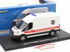 Ford Transit LWB Ambulance St. Petersburg year 2019 White 1:43 Greenlight