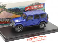 Jeep Wrangler Unlimited Freedom Edition 2019 blue 1:43 Greenlight