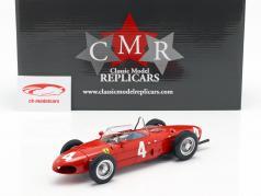 Graf Berghe v. Trips Ferrari 156 Sharknose #4 vencedora britânico GP F1 1961 1:18 CMR