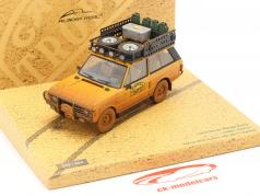 Land Rover Range Rover Camel Trophy Papua Nuova Guinea 1982 Dirty Version 1:43 Almost Real