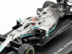 Lewis Hamilton Mercedes-AMG F1 W10 EQ #44 formula 1 Campione del mondo 2019 1:43 Bburago