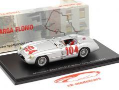 Mercedes-Benz 300 SLR #104 优胜者 Targa Florio 1955 Moss, Collins 1:43 Spark