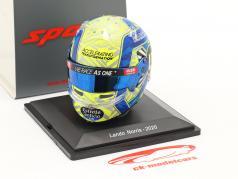 Lando Norris #4 McLaren F1 Team 式 1 2020 头盔 1:5 Spark