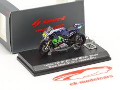 Valentino Rossi Yamaha YZR-M1 #46 Sieger MotoGP Assen 2015 1:43 Spark