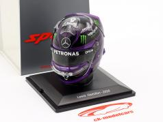 L. Hamilton #44 Mercedes-AMG Petronas формула 1 Чемпион мира 2020 шлем 1:5 Spark