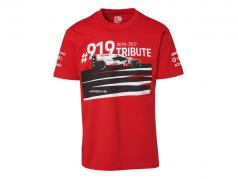 T-Shirt Porsche 919 Tribute 红