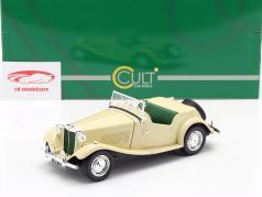 MG TD RHD Anno di costruzione 1953 avorio 1:18 Cult Scale