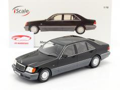 Mercedes-Benz S500 (W140) 建设年份 1994-98 黑色 1:18 iScale