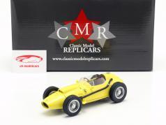 Ferrari Dino 246 fórmula 1 1958 Plain Body Edition amarillo 1:18 CMR