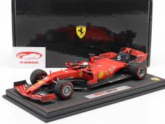Sebastian Vettel Ferrari SF90 #5 Italiaans GP formule 1 2019 Met Showcase 1:18 BBR