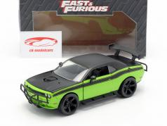 Dodge Challenger SRT8 Filme Fast and Furious 7 (2015) 1:24 Jada Toys