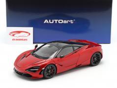 McLaren 720S Année de construction 2017 rouge métallique 1:18 AUTOart