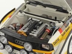 Audi Sport Quattro S1 #5 Vencedora Rallye SanRemo 1985 Röhrl, Geistdörfer 1:18 AUTOart