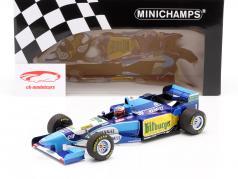 M. Schumacher Benetton B195 #1 Тихий океан GP F1 Чемпион мира 1995 1:18 Minichamps