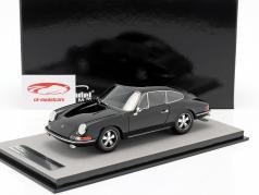 Porsche 911 S strada versione 1967 nero 1:18 Tecnomodel