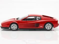 Ferrari Testarossa Monospecchio Год постройки 1984 красный 1:18 KK-Scale