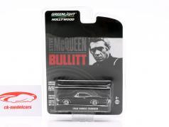 Dodge Charger Steve McQueen Film Bullitt (1968) schwarz 1:64 Greenlight