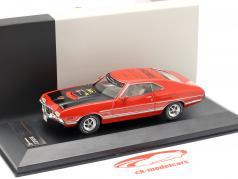 Ford Gran Torino Ano de construção 1972 vermelho Feira de brinquedos Nuremberg 2015 1:43 Premium X