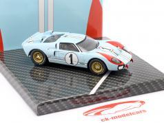 Ford GT40 MK II #1 2位 24h LeMans 1966 Miles, Hulme 1:43 CMR