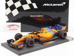 F. Alonso McLaren MCL33 #14 Almost Last F1 Race Abu Dhabi 2018 1:18 Minichamps / 2。 选择