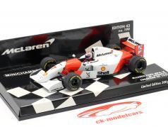Michael Andretti McLaren MP4/8 #7 Europa GP F1 1993 1:43 Minichamps