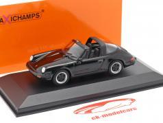 Porsche 911 Targa Bouwjaar 1977 zwart 1:43 Minichamps