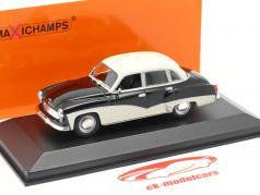 Wartburg 311 Baujahr 1959 schwarz / weiß 1:43 Minichamps