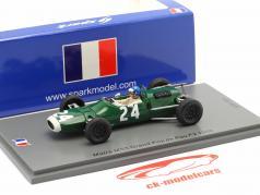 Jacky Ickx Matra MS5 #24 GP de Pau 式 2 1966 1:43 Spark