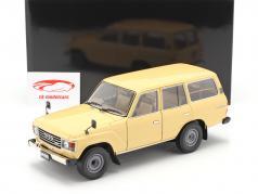 Toyota Land Cruiser 60 Anno di costruzione 1980 beige 1:18 Kyosho