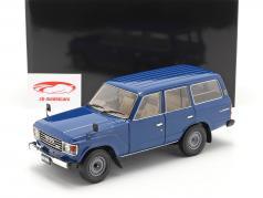Toyota Land Cruiser 60 Anno di costruzione 1980 blu 1:18 Kyosho