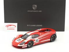 Porsche 917 Living Legend Concept Car #23 rouge / blanc Avec Vitrine 1:18 Spark