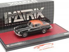 Aston Martin DB2/4 Vignale HRH Roi Baudouin 1954 noir / cuivre 1:43 Matrix