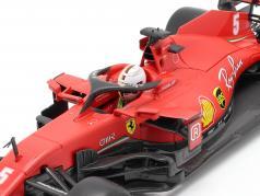 Sebastian Vettel Ferrari SF1000 #5 Австрийский GP формула 1 2020 1:18 Bburago