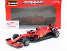 Charles Leclerc Ferrari SF1000 #16 2e Oostenrijks GP formule 1 2020 1:18 Bburago