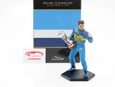 Michael Schumacher figure formula 1 World Champion 1995 1:10 MBA