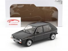Volkswagen VW Golf L Bouwjaar 1983 zwart 1:18 Solido