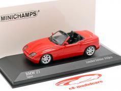 BMW Z1 (E30) 建设年份 1991 红 1:43 Minichamps