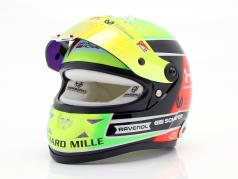 Mick Schumacher Prema Racing #20 formule 2 Champion 2020 casque 1:2 Schuberth