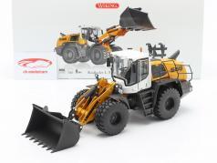 Liebherr Retro escavadeira L 556 XPower amarelo / Branco / Preto 1:32 Wiking