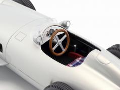 Set: Mercedes-Benz Race Bil Transportør Blå undre mig Med Mercedes-Benz W196 1:18 iScale