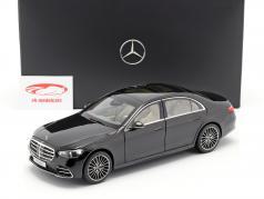 Mercedes-Benz Classe S (V223) Année de construction 2020 onyx noir 1:18 Norev