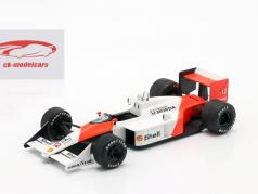 Ayrton Senna McLaren MP4/4 #12 F1 Champion du monde 1988 1:24 Premium Collectibles