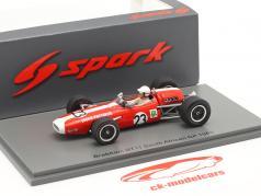 Jackie Pretorius Brabham BT11 #23 Zuid-Afrika GP formule 1 1968 1:43 Spark