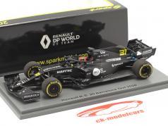 Esteban Ocon Renault R.S.20 #31 Barcelone tester formule 1 2020 1:43 Spark